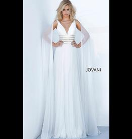 Dresses 22 Jovani Chiffon Dream White Formal Dress