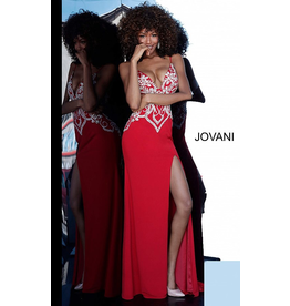 Dresses 22 Jovani Love Potion Red Formal Dress