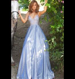 Dresses 22 Jovani Pretty in Periwinkle Formal Dress