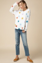 Tops 66 Super Star Colorful Sweater