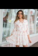 Dresses 22 Jusy Peachy Fun Floral Dress