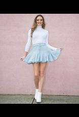 Skirts 62 Ruffle Around Blue Skort