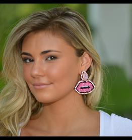 Jewelry 34 Lips & Teardrop Earrings