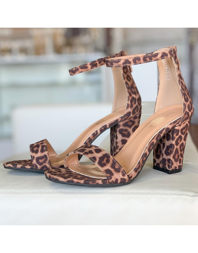 Shoes 54 Leopard Heels