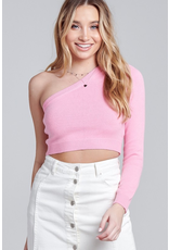 Tops 66 One Shoulder WInter Sweater