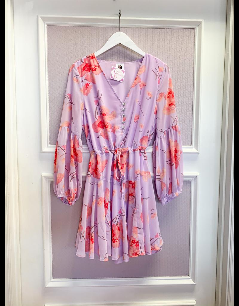 Dresses 22 Lavender and Floral Dress