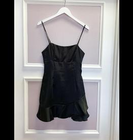 Dresses 22 Black Satin Szn Dress