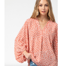 Tops 66 Pretty in Dots Top