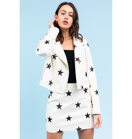 Outerwear Star Struck Leather Jacket