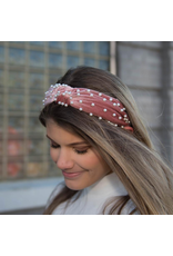 Accessories 10 Pearl Velvet Headband