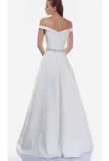 Dresses 22 Enchanted Evening White Embellished Formal Dress