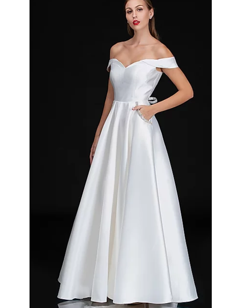 Dresses 22 Grant Me One WIsh White Formal Drress