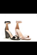 Shoes 54 Black Patent Block Heels