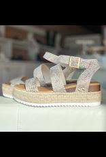 Shoes 54 Snake Espadrille Sandal
