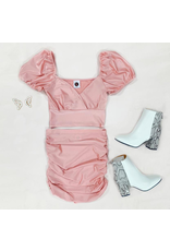 Skirts 62 Blush Baby Satin Skirt