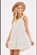 Dresses 22 Sweet Melody White Ruffle Dress