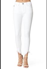 Pants 46 KanCan Distressed Ankle White Denim
