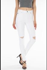 Pants 46 KanCan White Distressed Skinny