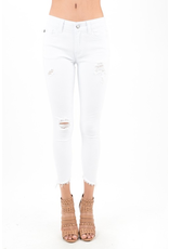 Pants 46 KanCan Moderate Distressed White Skinny