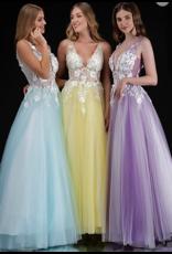 Dresses 22 Magic Moment Two Tone Formal Dress