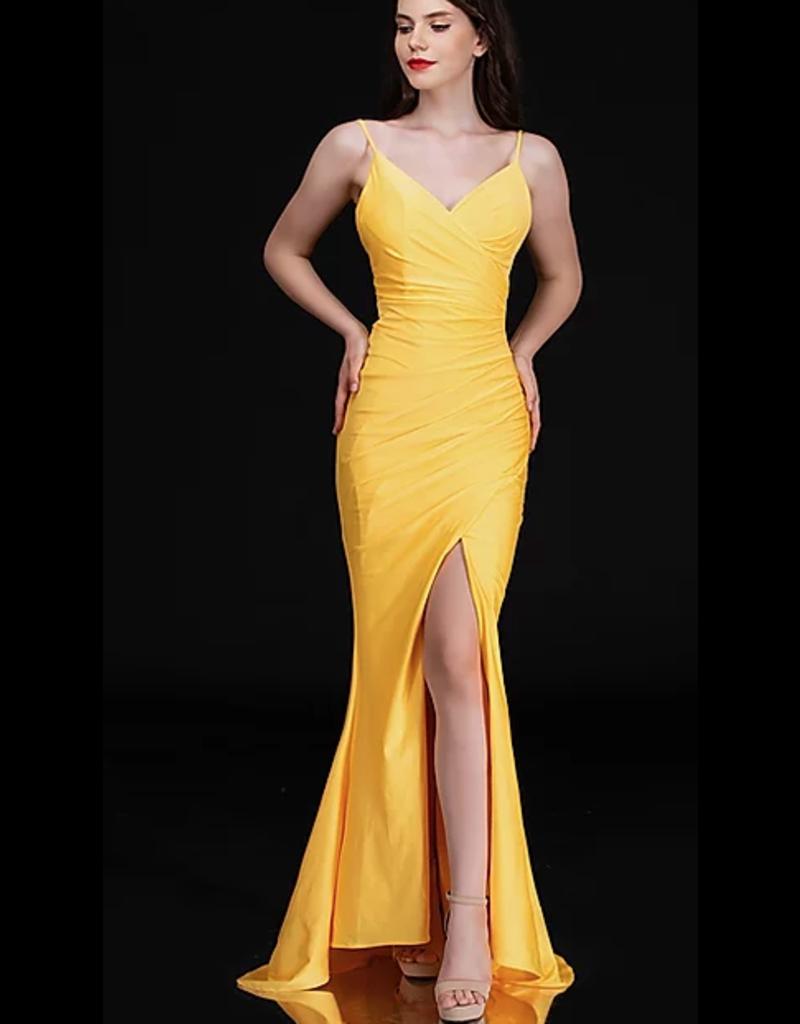 Dresses 22 Hello Sunshine Yellow Formal Dress