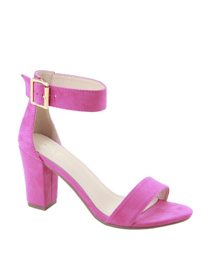 Shoes 54 Color Pop Hot Pink Heels
