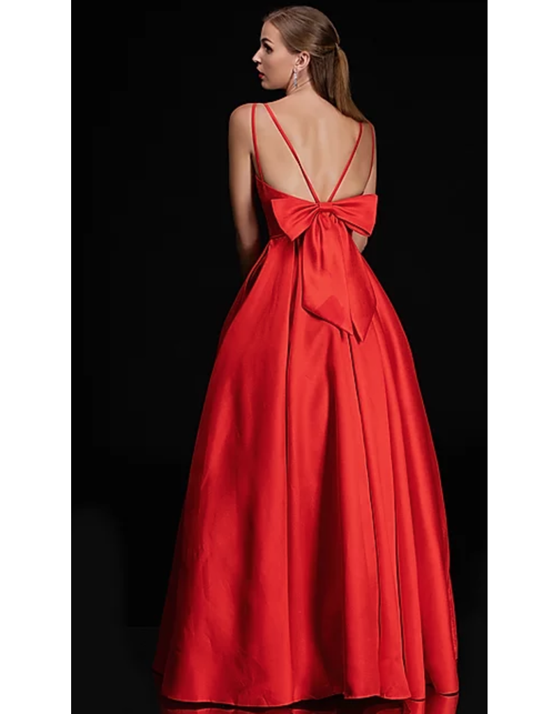 Dresses 22 Own The Night Red Bow Back Formal
