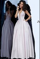 Dresses 22 Jovani Shimmer Blush Corset Back Formal