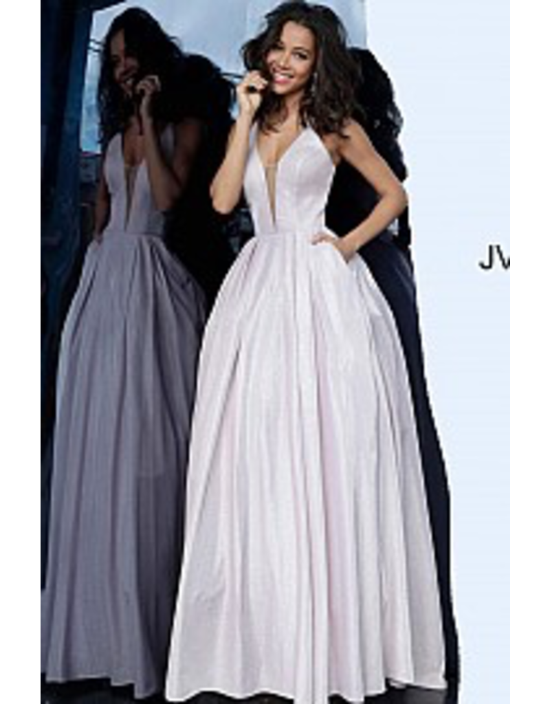 Dresses 22 Jovani Shimmer Blush Corset Back Formal