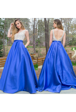 Formalwear Jovani Elegant Evening Royal Formal Dress