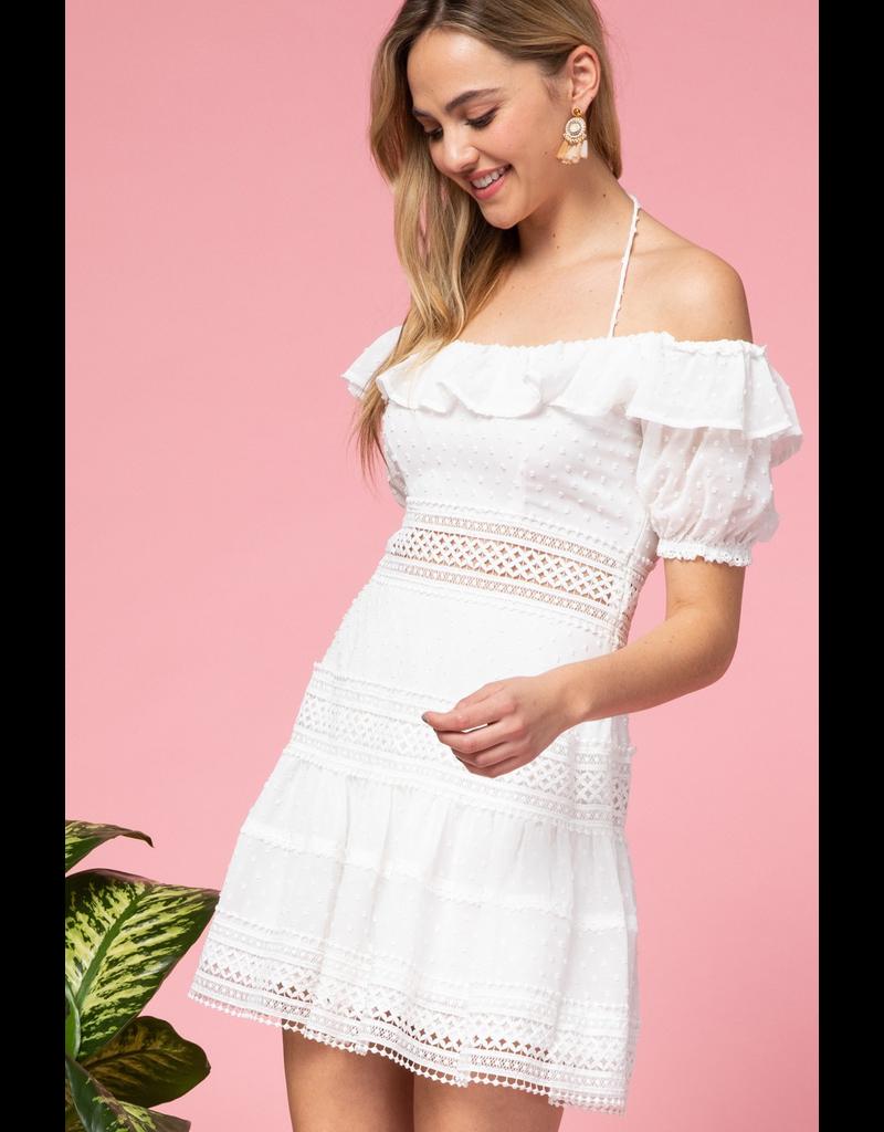 Dresses 22 Spring Romance White Swiss Dot Dress