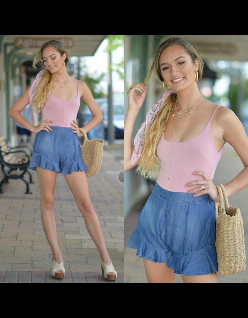Shorts 58 Summer Vibes Denim Shorts