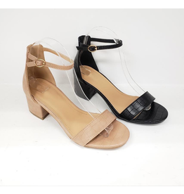 Shoes 54 Nude Croc Texture Heels