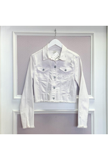 Outerwear White Denim Jacket