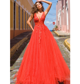 Dresses 22 Jovani New Love Red Formal Dress