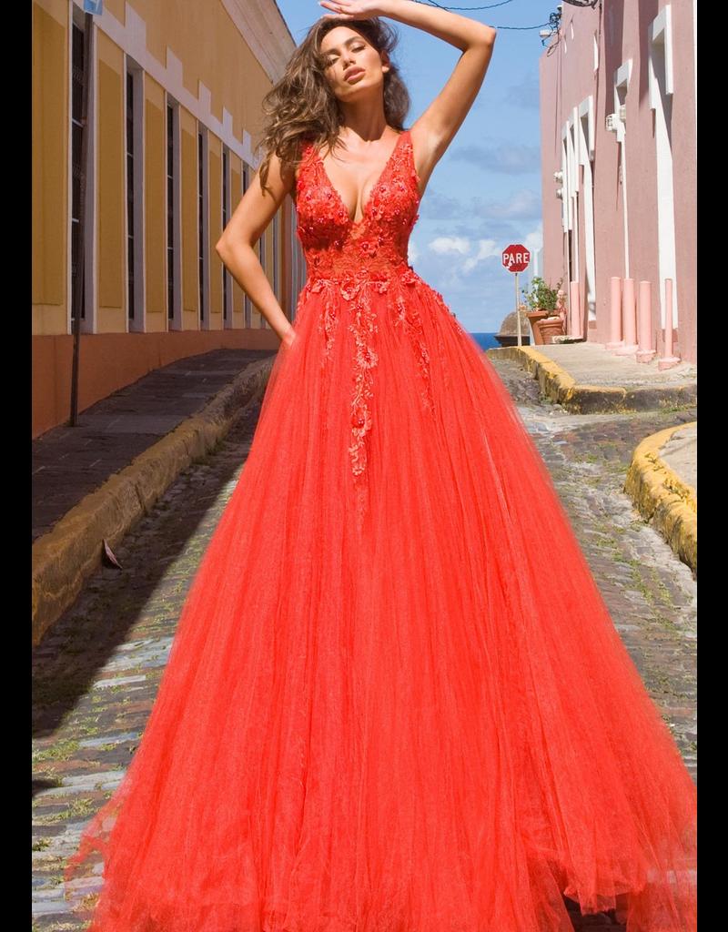 Dresses 22 Jovani New Love Red Formal Dress