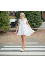 Dresses 22 Ruffle and Cute White Baby Doll Dress