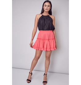 Skirts 62 Mix It Up Ruffle Tiered Flamingo Skirt