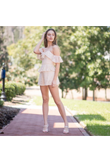 Rompers 48 Just For Your Lace Taupe Romper
