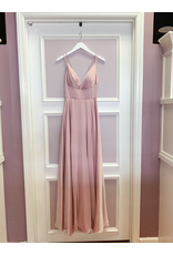 Dresses 22 In This Moment Satin Blush Formal Dress