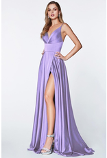 Dresses 22 In This Moment Satin Lavender Formal Dress