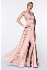 Dresses 22 In This Moment Satin Soft Pink Formal Dress