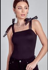 Tops 66 Sheer Details Bodysuit
