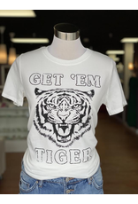 Tops 66 Get 'Em Tiger Graphic Tee