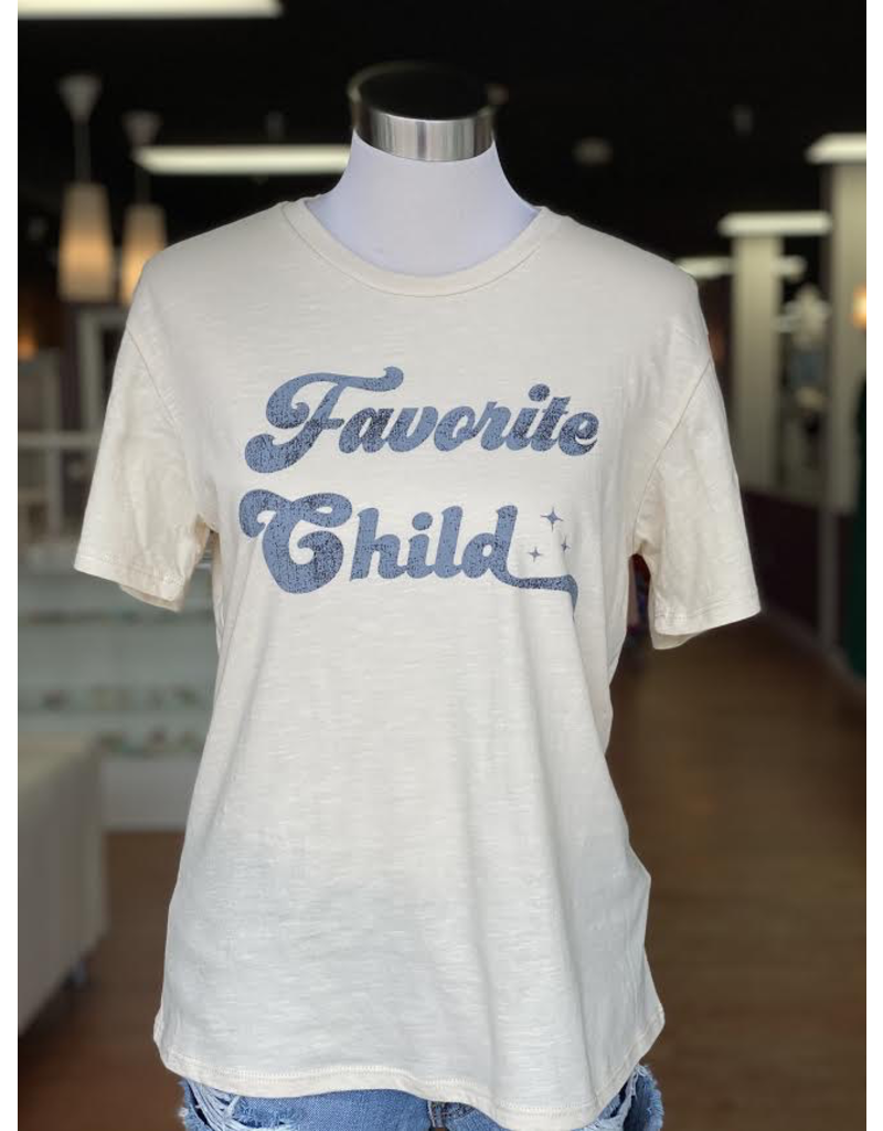 Tops 66 Favorite Child Graphic Tee