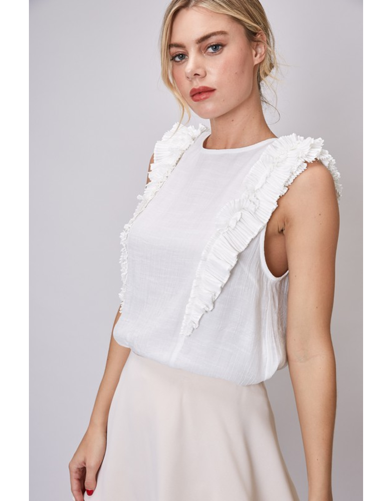 Tops 66 On Top of It Ruffle Top