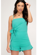 Rompers 48 Mint For You Bow Romper