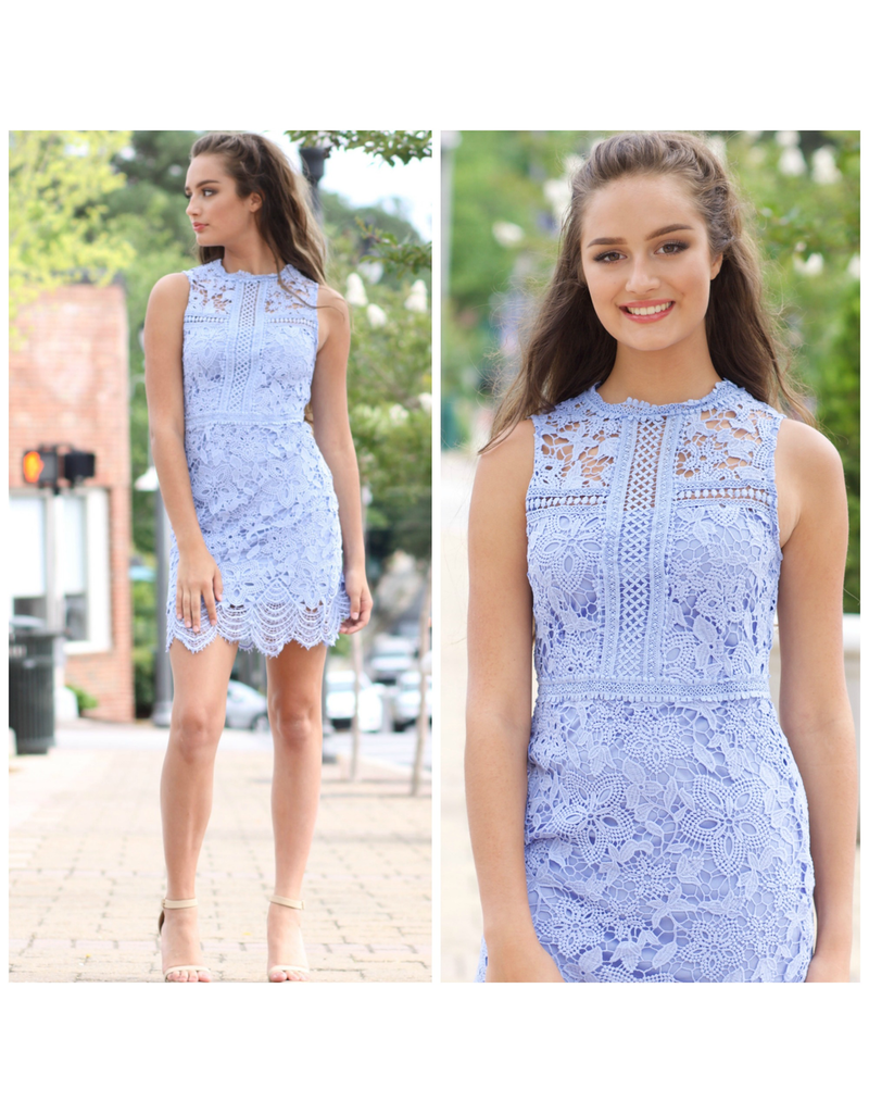 Dresses 22 Lace Dress Up Sky Blue Dress