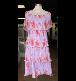 Dresses 22 Lavender Floral Tiered Dress