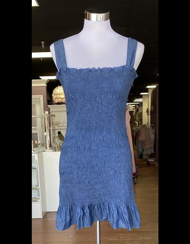Dresses 22 Smock Indigo Hued Dress